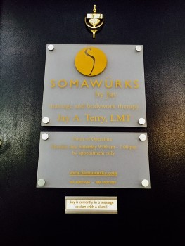 Somawurks by Jay Plaque